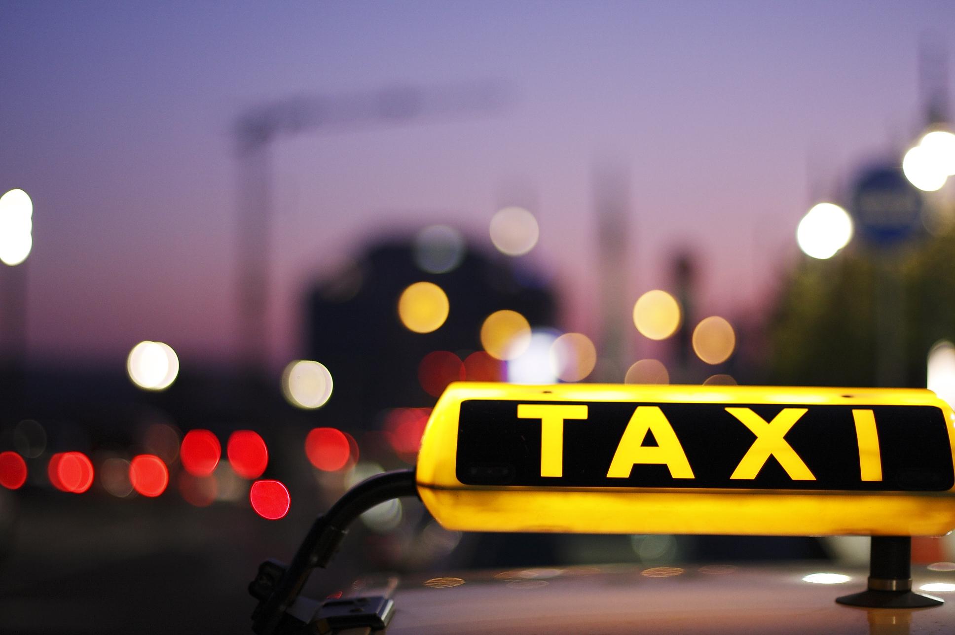 itinerarios en la cartilla del taxi