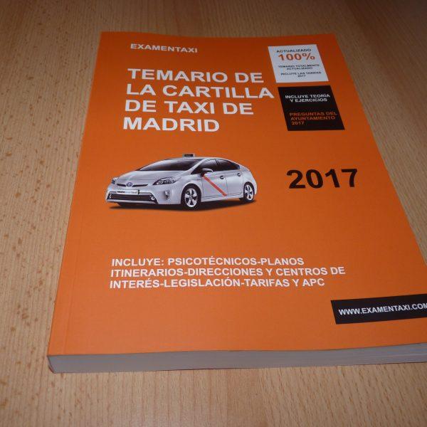 temario taxi 2017