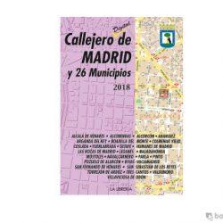 callejero madrid ediciones la libreria 2018