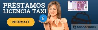 banner préstamos licencia de taxi