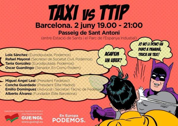 taxi vs ttip