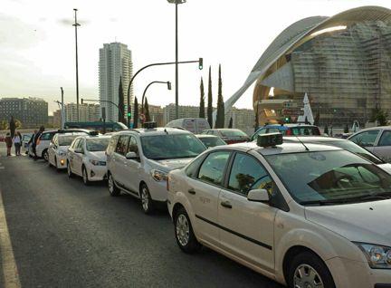 carnet de taxi de valencia