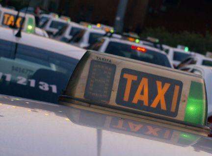 matrículas azules para taxis