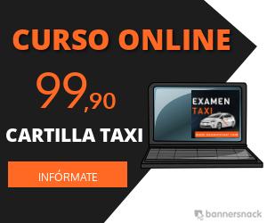 curso online de la cartilla de taxi