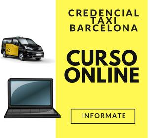 curso online credencial taxi