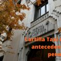 cartilla de taxi con antecedentes penales