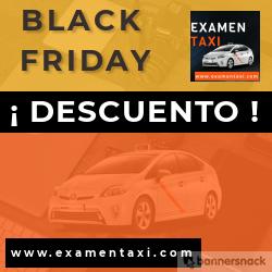 Black Friday llega a Examentaxi
