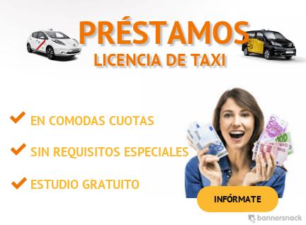 préstamos licencia de taxi