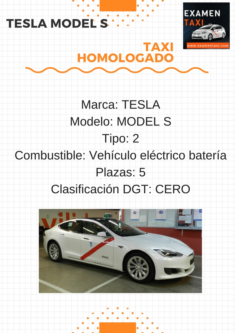 características técnicas del Tesla Model S