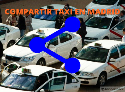 compartir taxi en Madrid