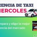 licencia de taxi miercoles