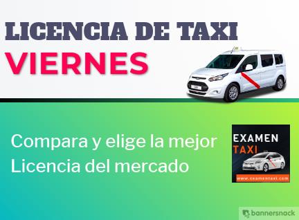 licencia de taxi viernes