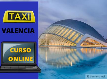 curso online de taxi de valencia