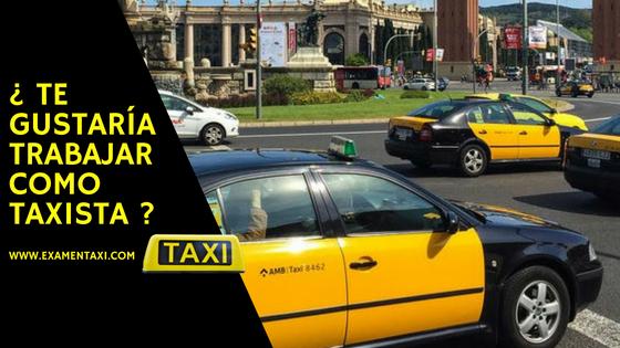 examen taxi barcelona
