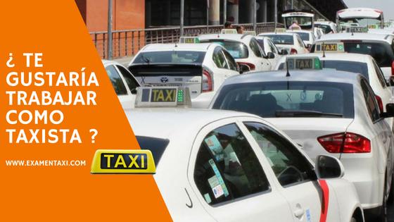 examen taxi madrid
