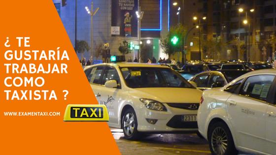 examen taxi valencia