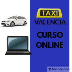 Curso de Taxi de Valencia Online