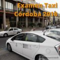 examen de taxi de córdoba 2018