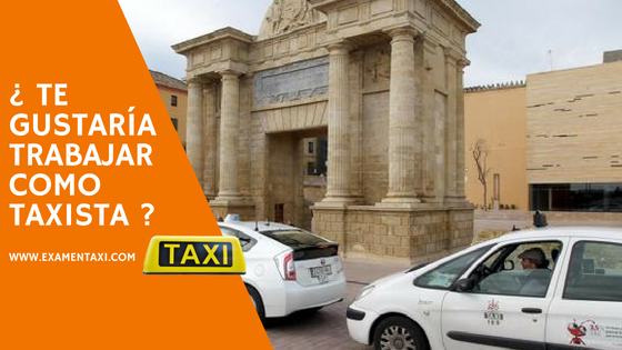 examen taxi cordoba