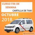 curso cartilla de taxi octubre 2018