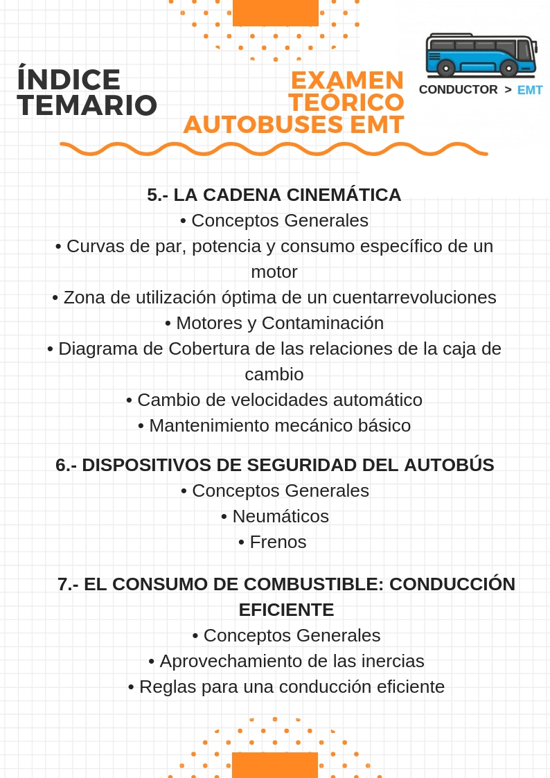 indice temario EMT 3