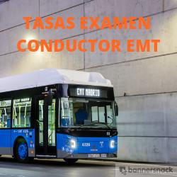 Tasas del Examen de Conductor de Autobuses de la EMT