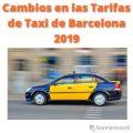 cambios en las tarifas de taxi de barcelona