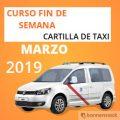 curso cartilla de taxi marzo 2019