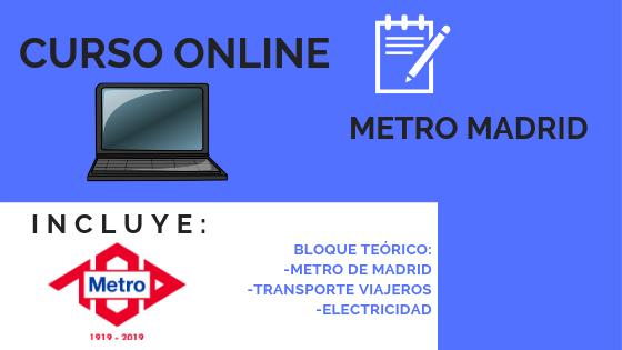 Curso Online de Metro de Madrid