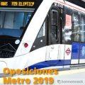 oposiciones al metro de madrid 2019