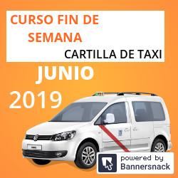 Curso Cartilla de Taxi Junio 2019
