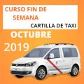 curso cartilla de taxi octubre 2019
