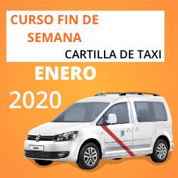 Curso Cartilla de Taxi Enero 2020