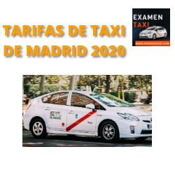 Tarifas de Taxi 2020