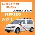 curso cartilla de taxi febrero 2020