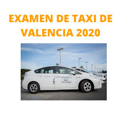 Examen de Taxi de Valencia 2020