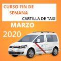 curso cartilla de taxi marzo 2020