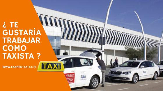 examen taxi castellón