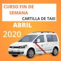 curso cartilla de taxi abril 2020