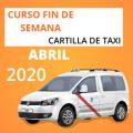 curso cartilla de taxi abril 2020