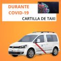 cartilla de taxi durante el coronavirus