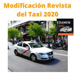 modificación revista del taxi 2020