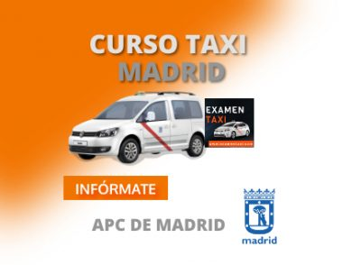 curso taxi de madrid