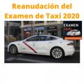 reanudación del examen de taxi