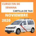 curso cartilla de taxi noviembre 2020