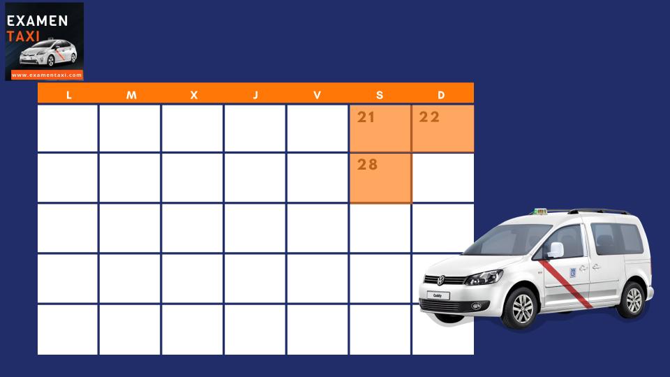 Calendario Curso Cartilla Noviembre 2020