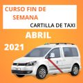 curso cartilla de taxi abril 2021