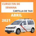 curso cartilla de taxi abril 2021