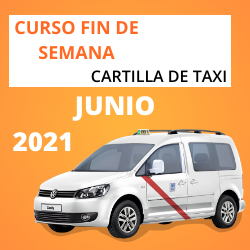 Curso Cartilla de Taxi Junio 2021