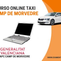 curso online de taxi camp de morvedre